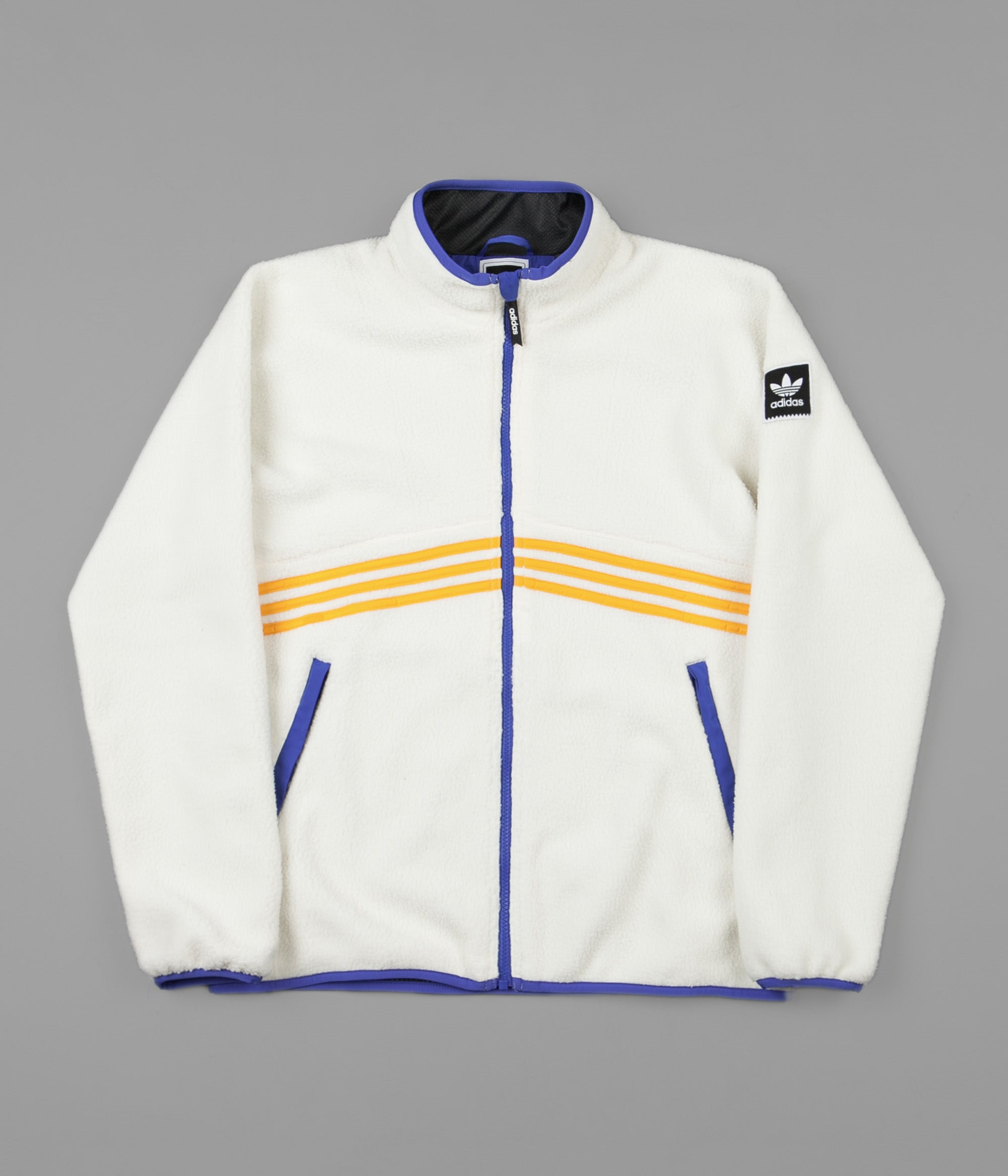 adidas palace windbreaker blau orange