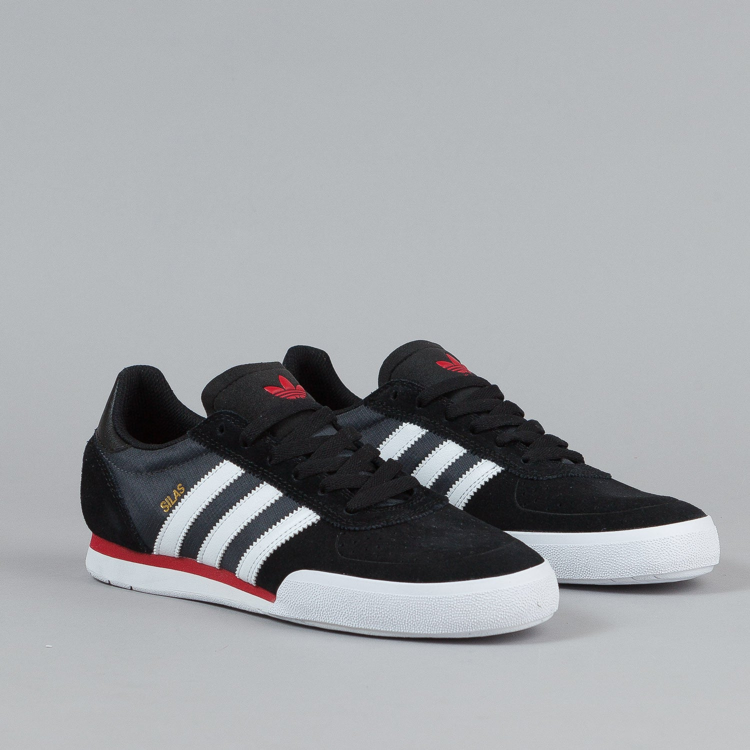 Adidas Silas SLR Core Black / FTW White / Power Red