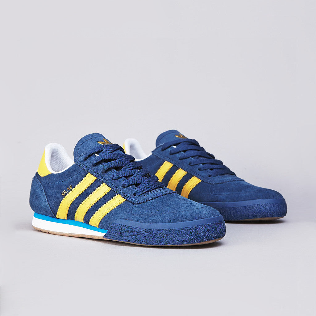 Adidas Silas SLR Uni Blue / St Fade Gold / Running White