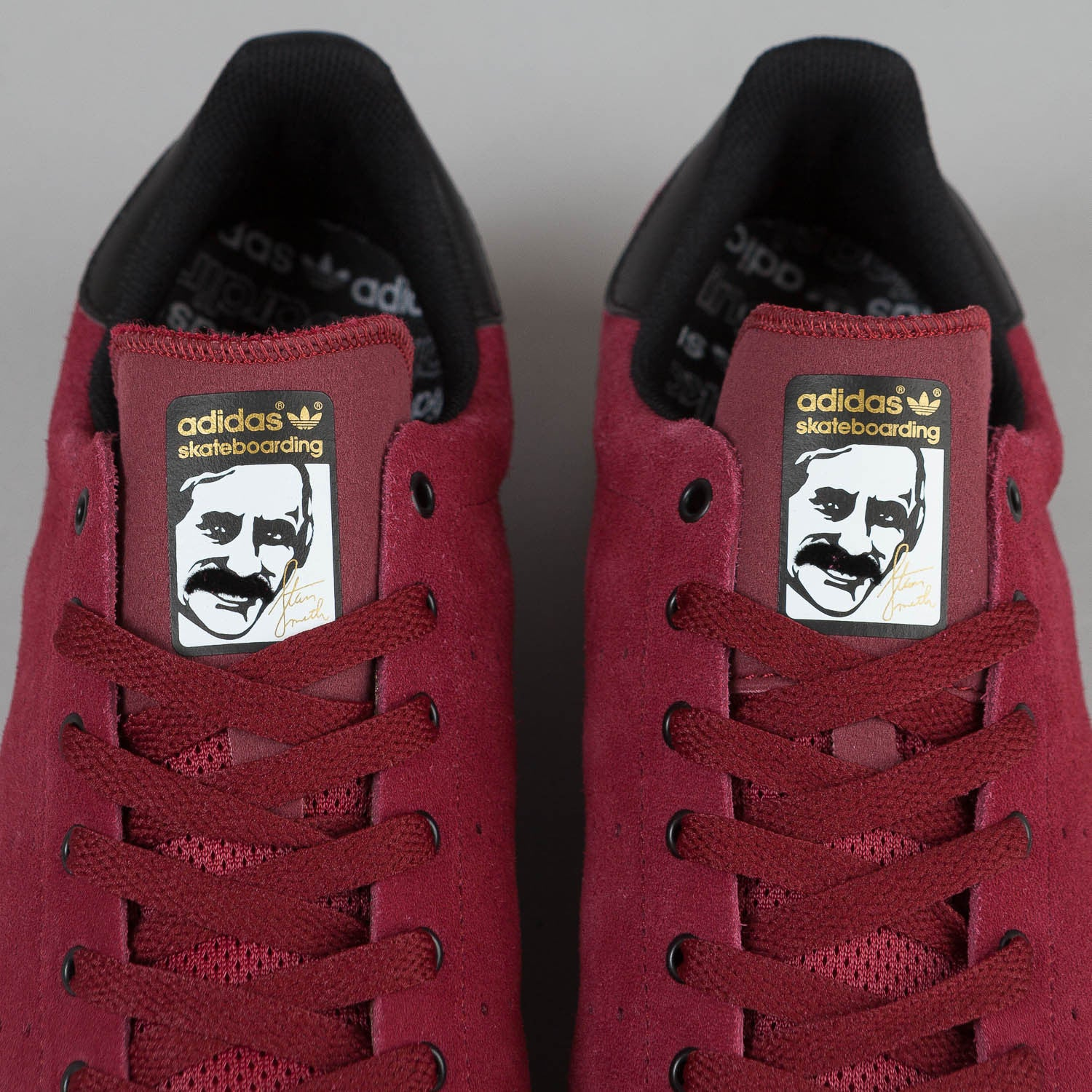 Adidas Stan Smith Vulc Burgundy / Black / Gum