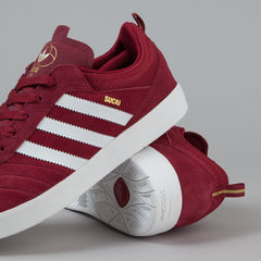 Adidas Suciu ADV Shoes - Collegiate Burgundy / FTWR White / Gold Metallic