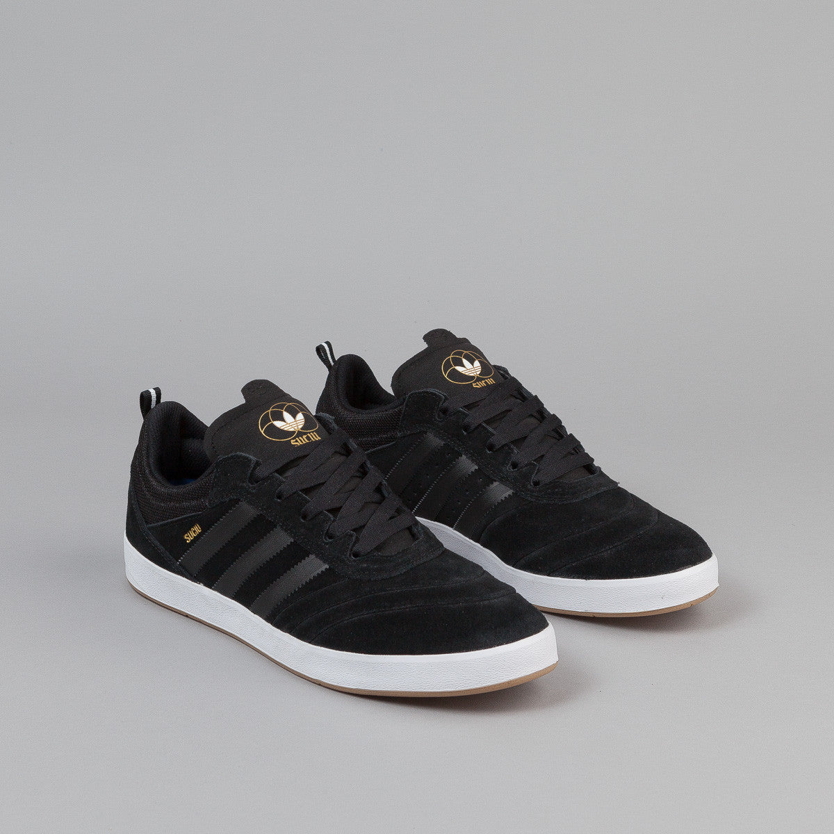 Adidas Suciu ADV Shoes - Core Black / FTW White / Gold Metallic