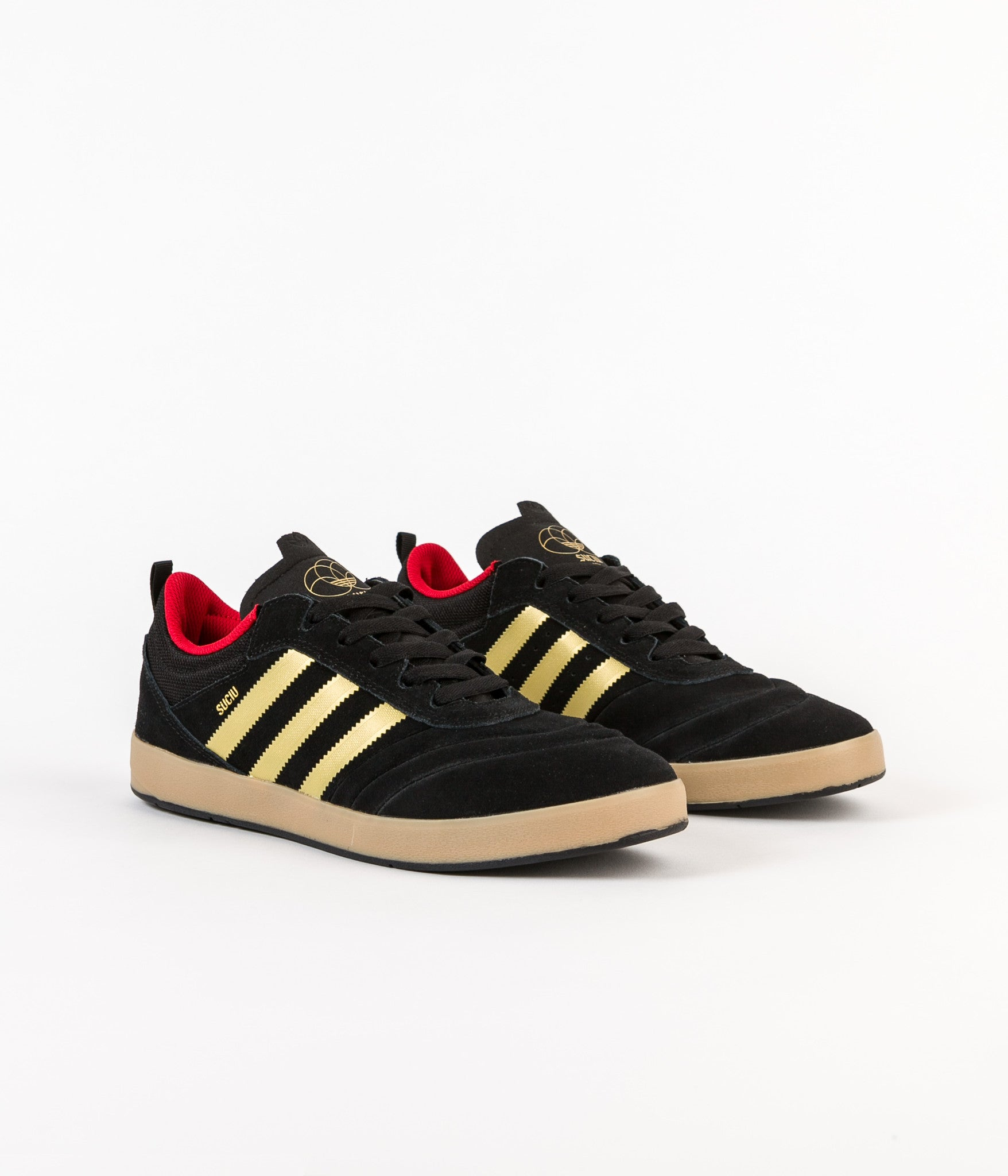 Adidas Suciu Adv Shoes - Core Black / Gold Foil / Gum4
