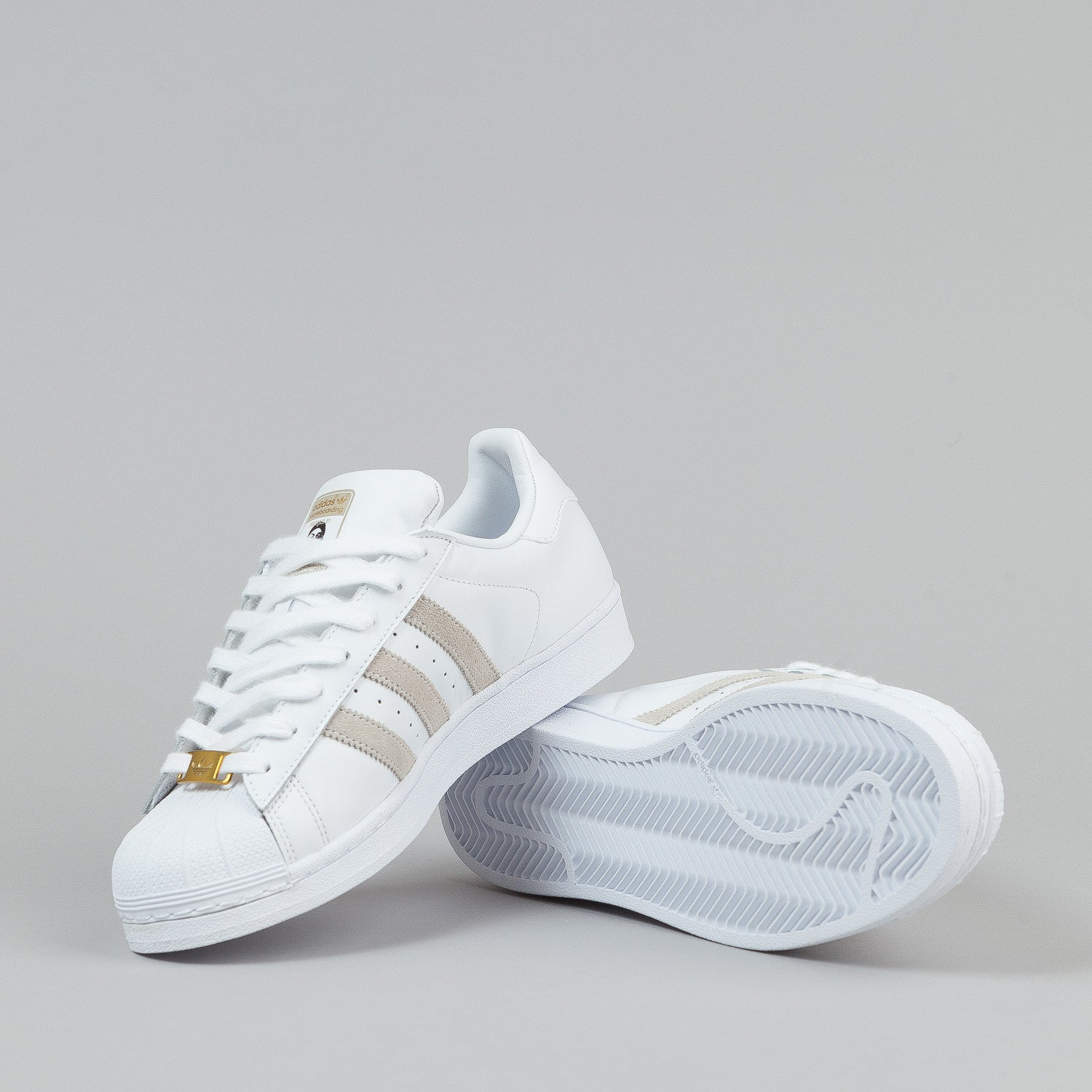 adidas Originals Superstar up W White Black Womens Wedges