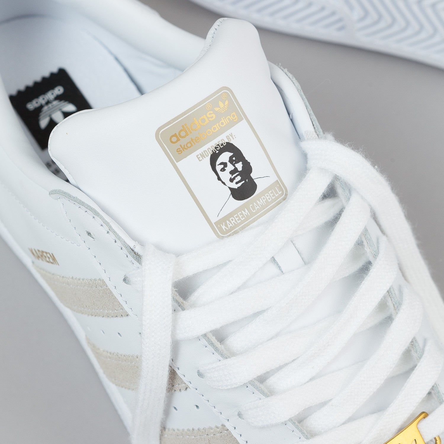 Adidas Superstar RT Kareem Campbell Shoes - White / White