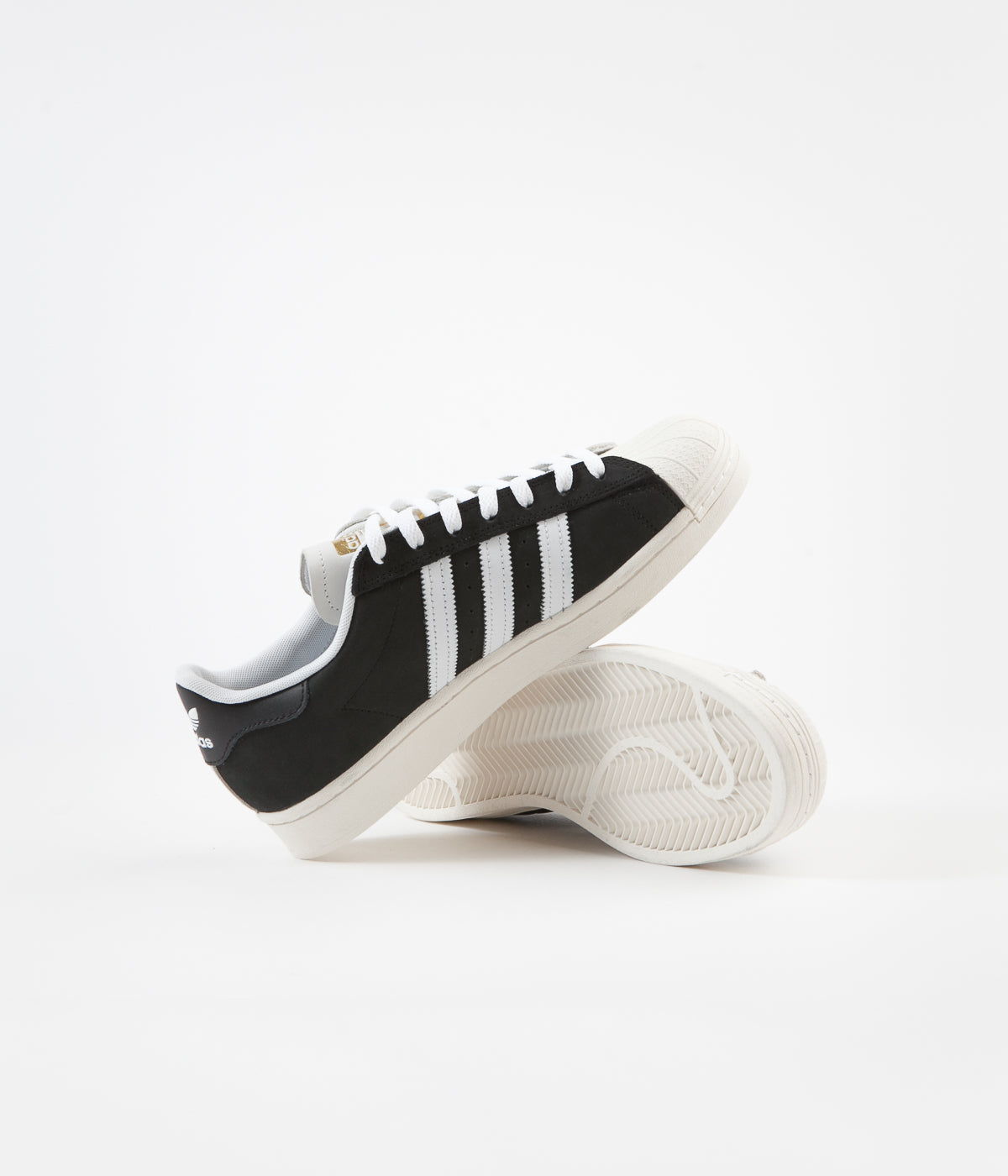 Adidas Superstar Shoes - 2 Tone / White / Core Black / Gold Metallic