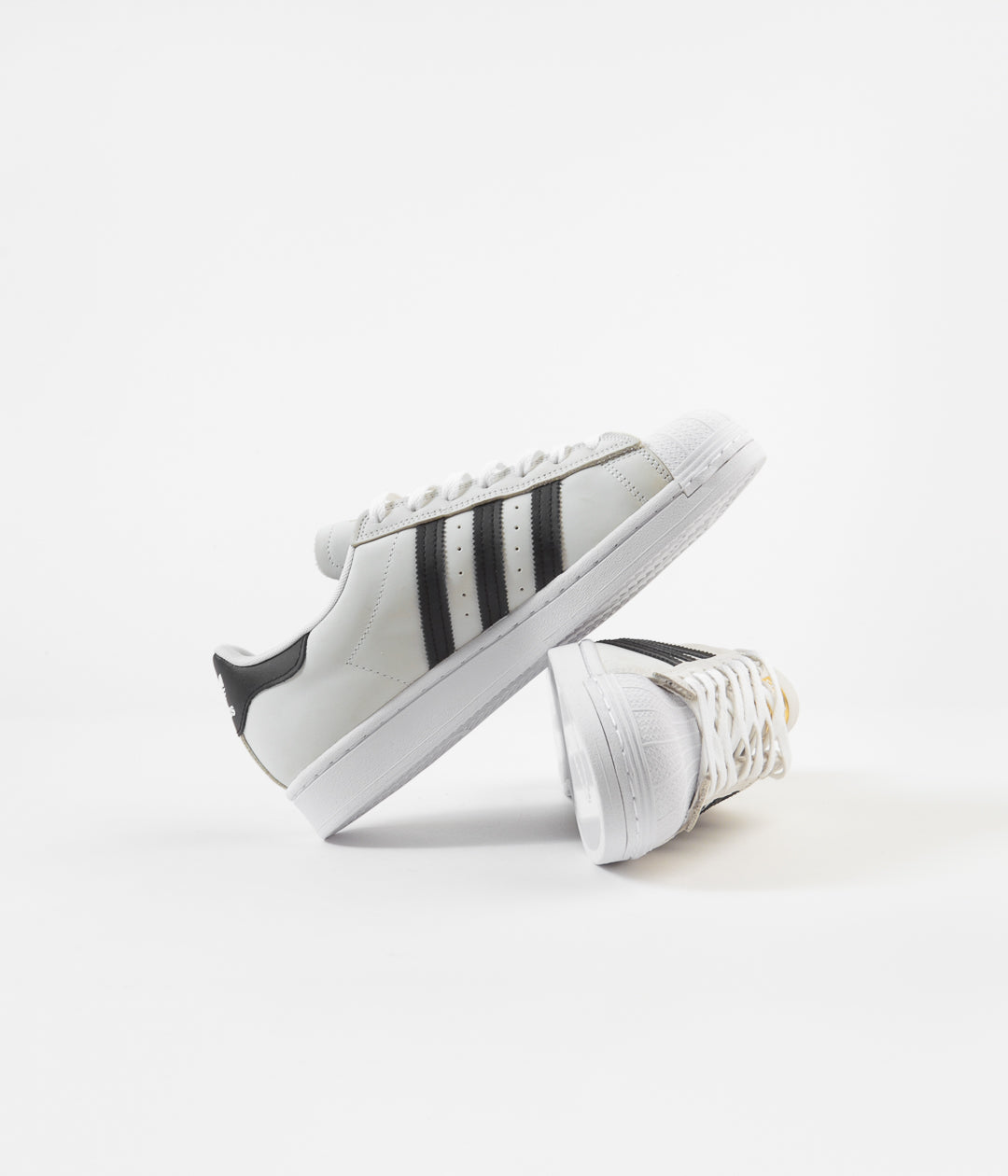 Adidas Superstar Shoes - White / Core Black / Gold Metallic