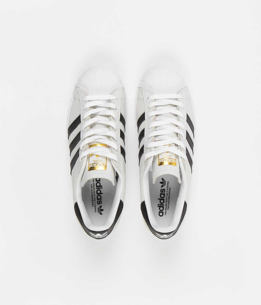 adidas superstar shoes gold and white