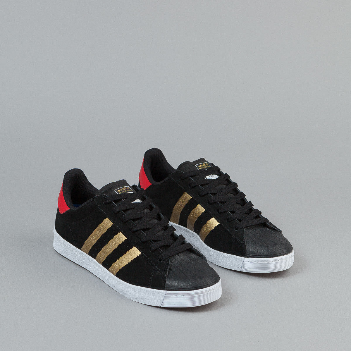 ADIDAS SUPERSTAR VULC ADV SKATE SHOE #B27392 WHITE