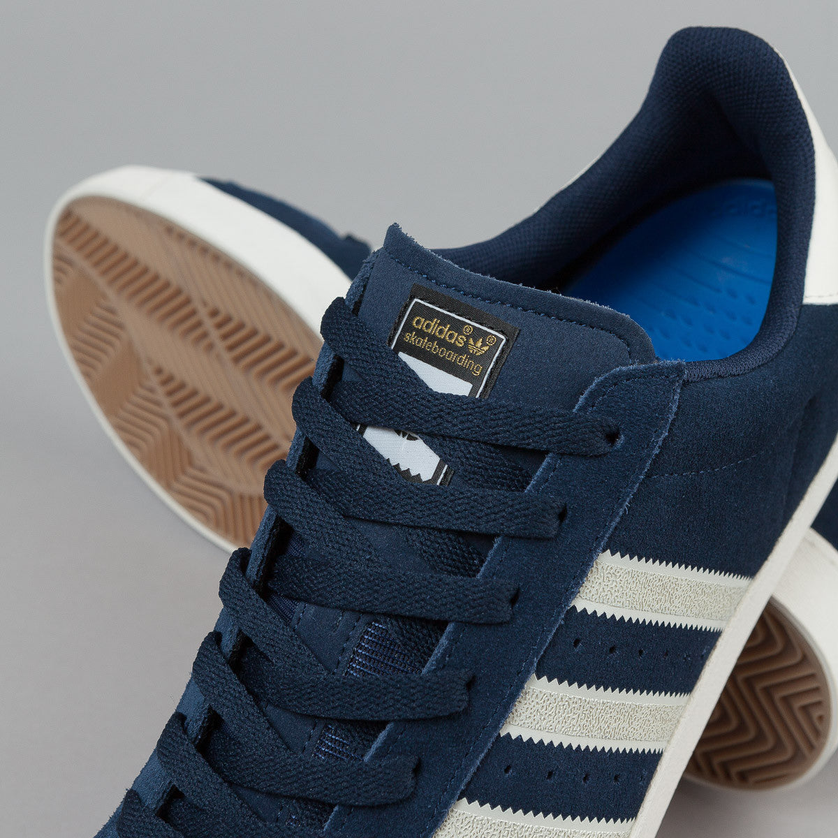 Adidas Superstar Vulc ADV Shoes - Collegiate Navy / Chalk White