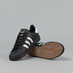 Adidas Superstar Vulc ADV Shoes - Core Black / FTWR White / Core Black