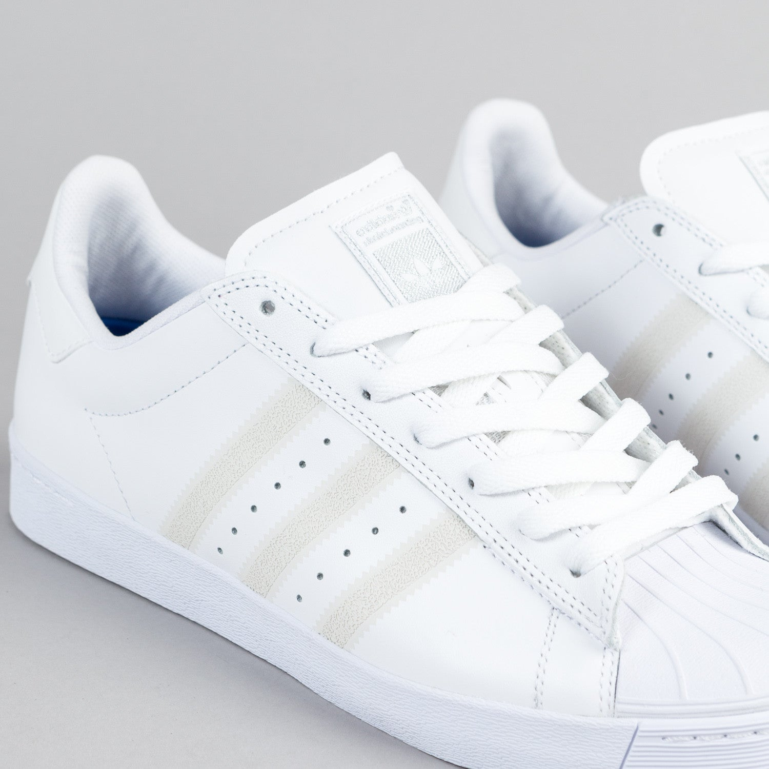 Adidas Superstar Vulc Adv White Black Unisex Cheap Superstar