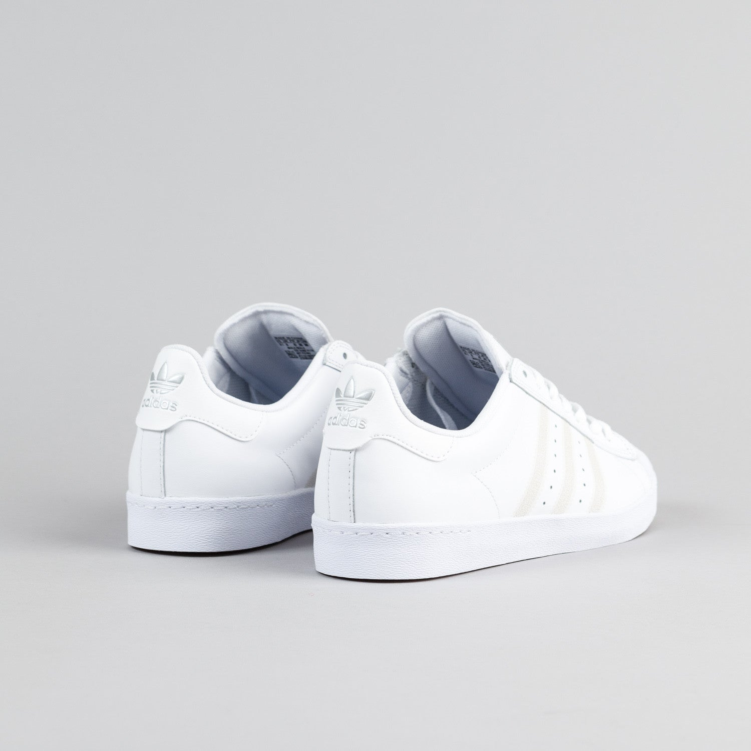 Adidas Superstar Vulc Adv Black White Hers trainers Office Shoes