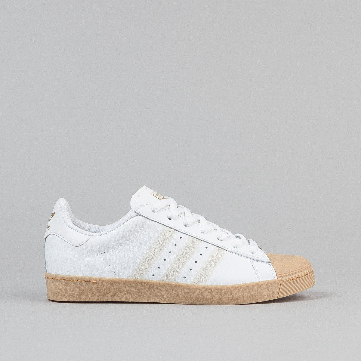 Adidas Superstar Vulc Shoes - FTWR White / FTWR White / Gum