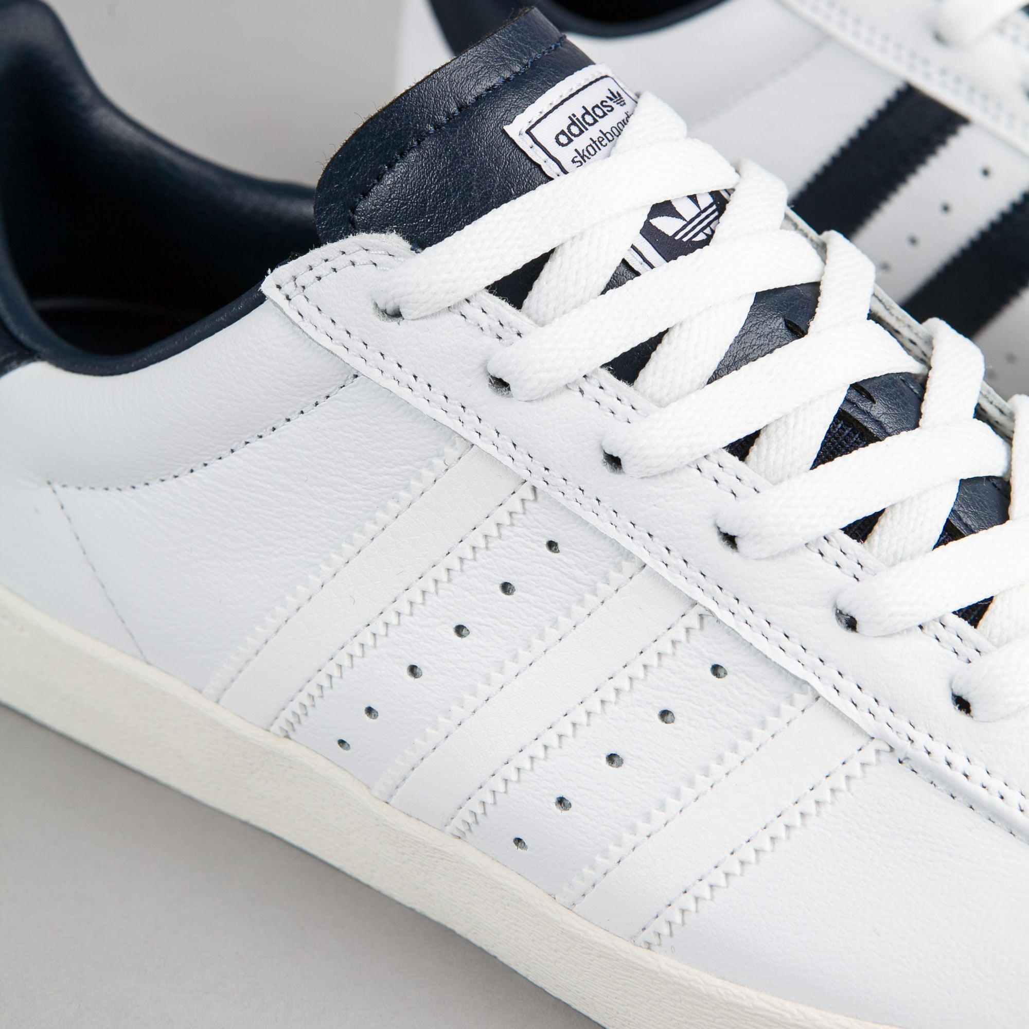 Cheap Adidas superstar vulc adv crystal white / white / camo geen