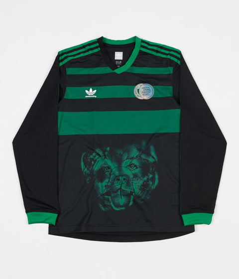 Adidas Tyshawn Jersey - Black / Green
