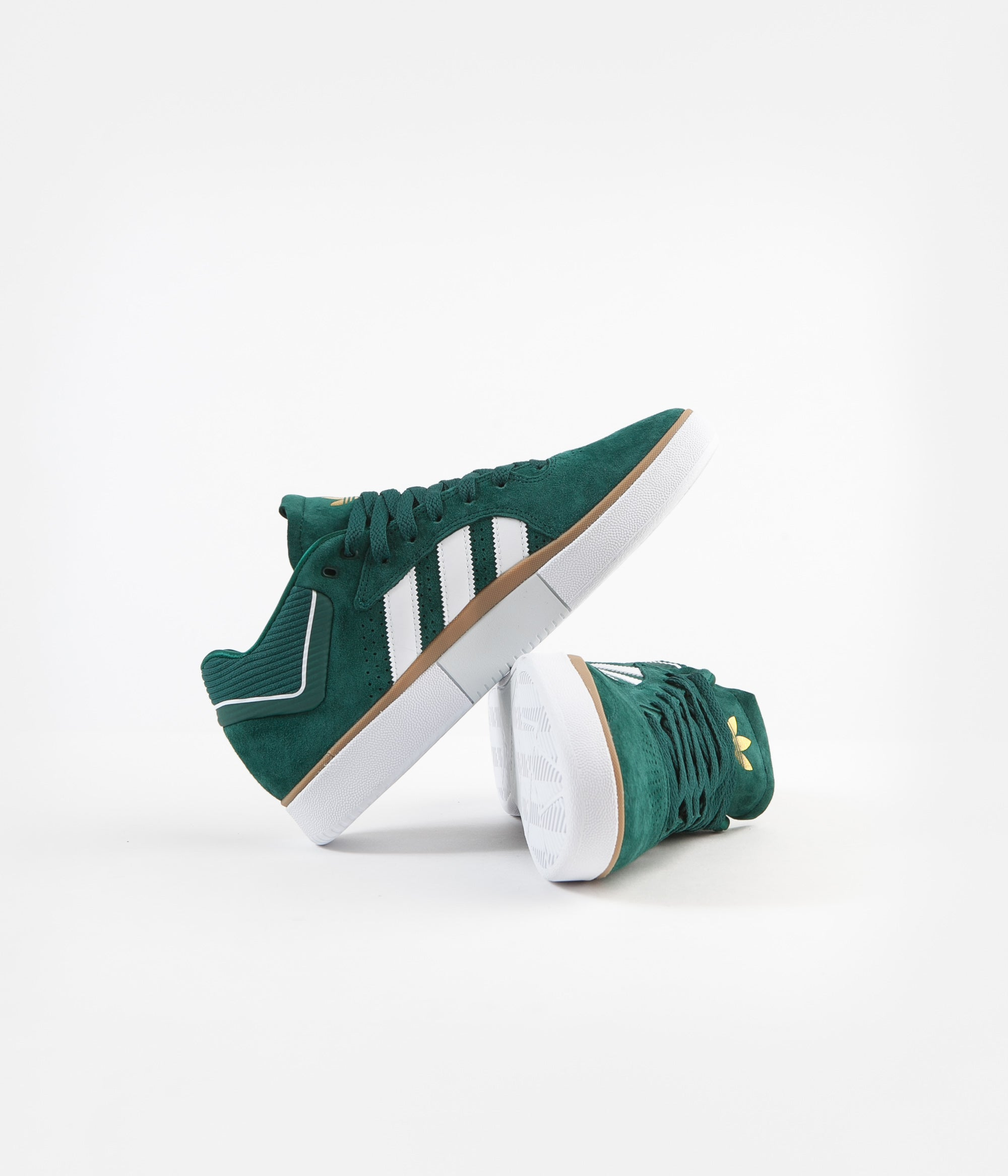 Adidas Tyshawn Shoes - Collegiate Green / White / Gum4