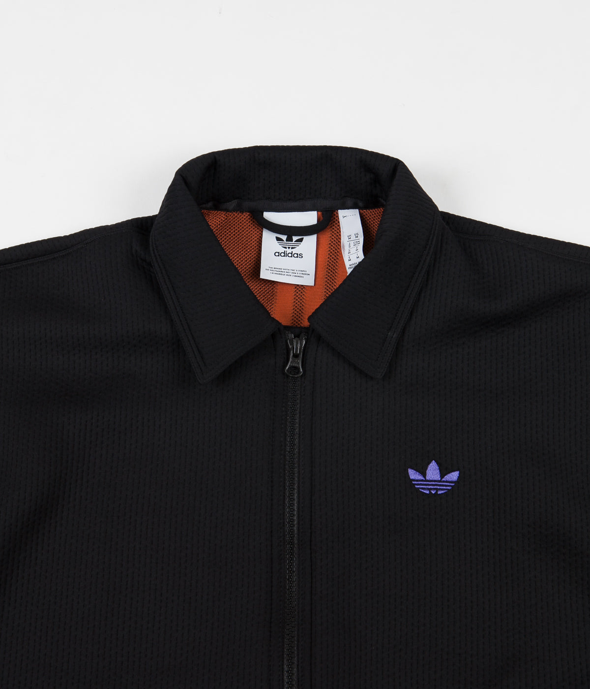 Adidas Utility Jacket - Black / Purple / Glory Amber
