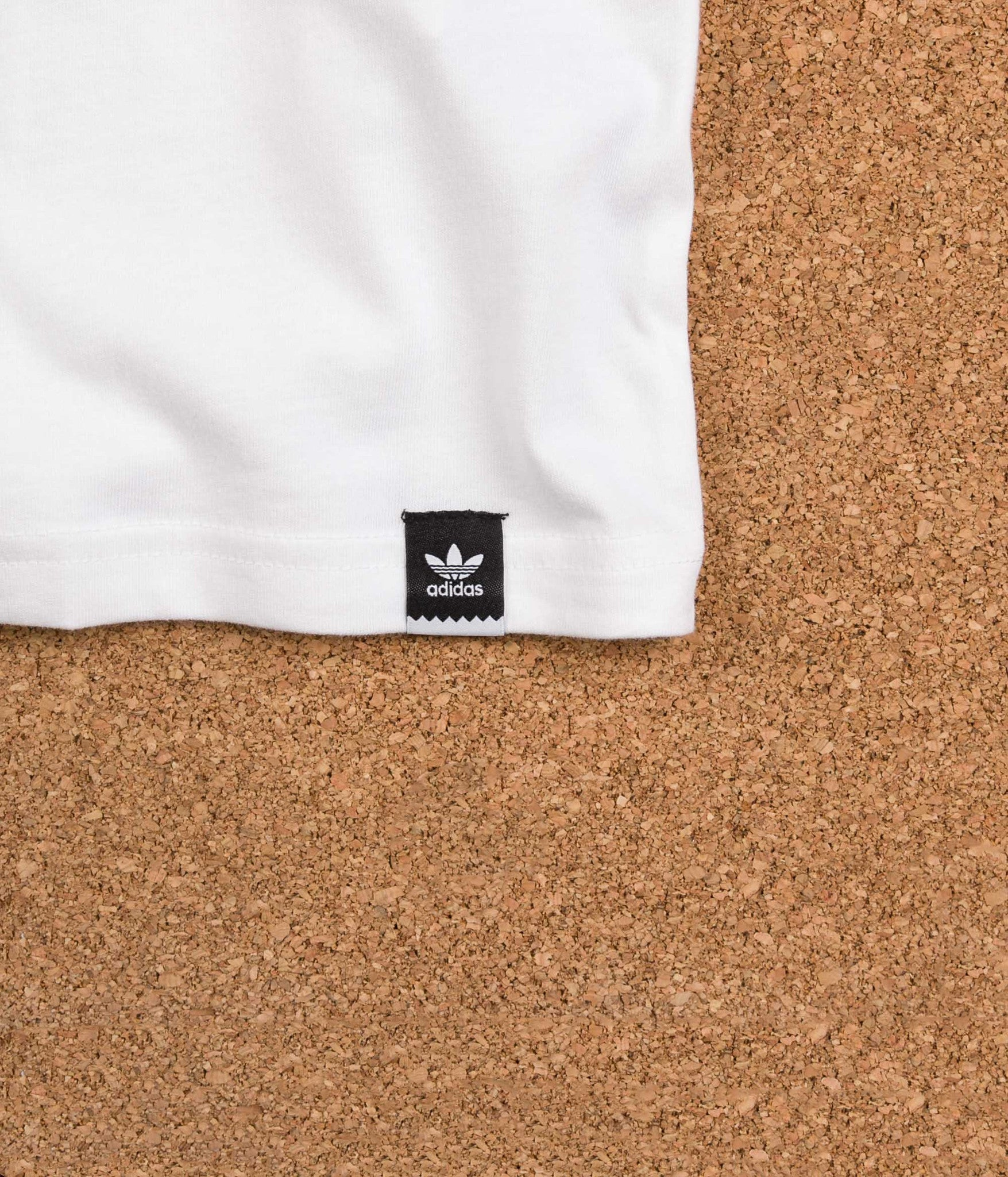 Adidas VHS Block T-Shirt - White / Black / Energy Blue / Energy