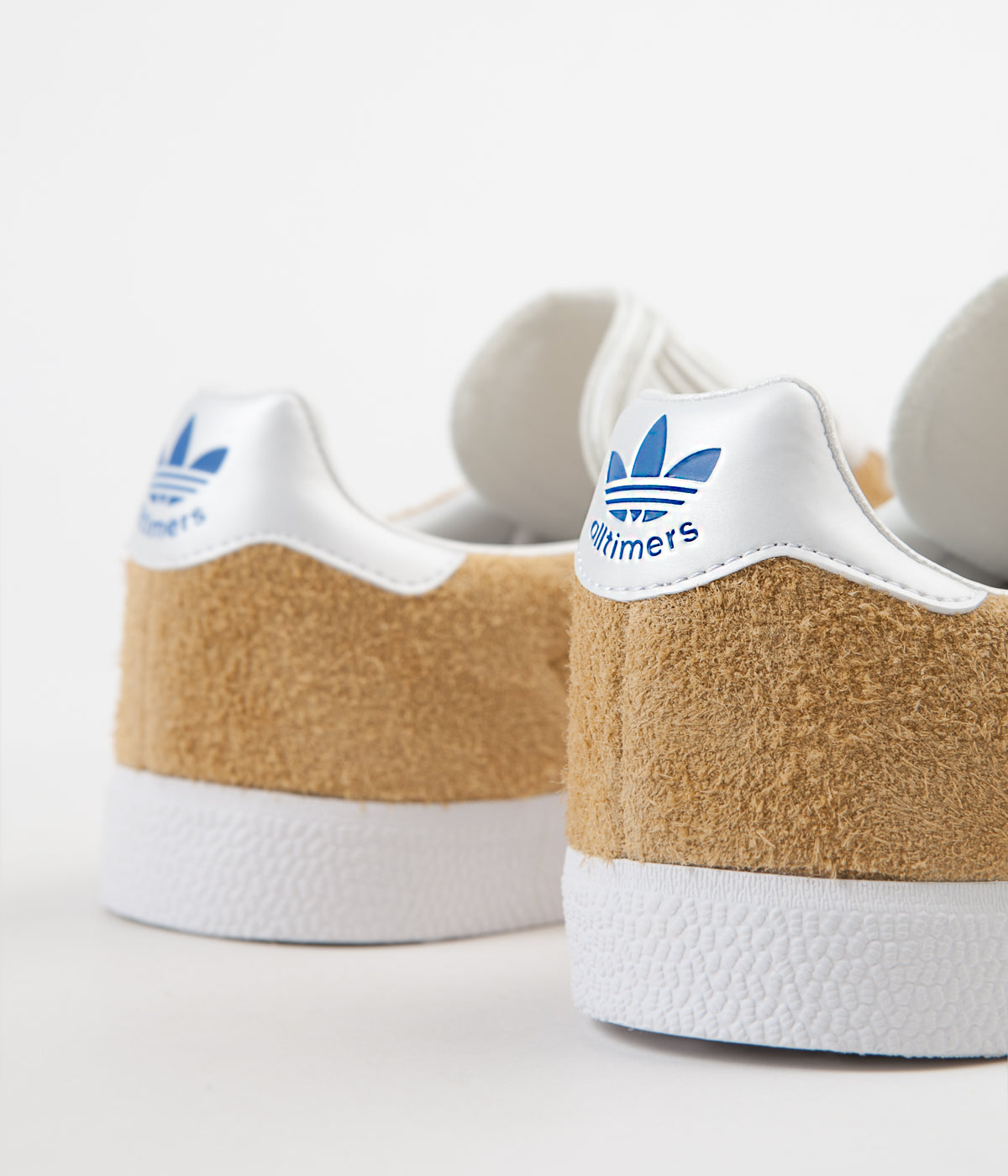 sports shoes 6c20c a8553 ... Adidas x Alltimers Gazelle Super Shoes - Mesa   Chalk White   Blue ...