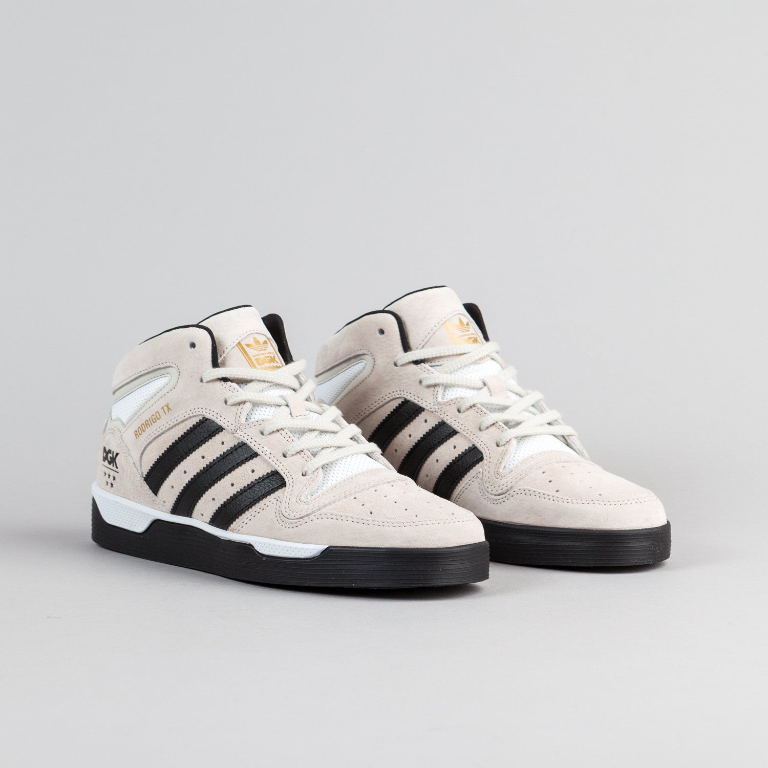 Adidas x DGK Locator Mid Shoes - Mist Stone / Core Black / White