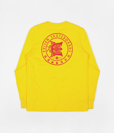 Adidas x Evisen Long Sleeve T-Shirt - Yellow / Scarlet