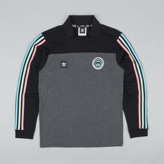 Adidas X Gnarly Jersey - Dark Heather Grey / Black