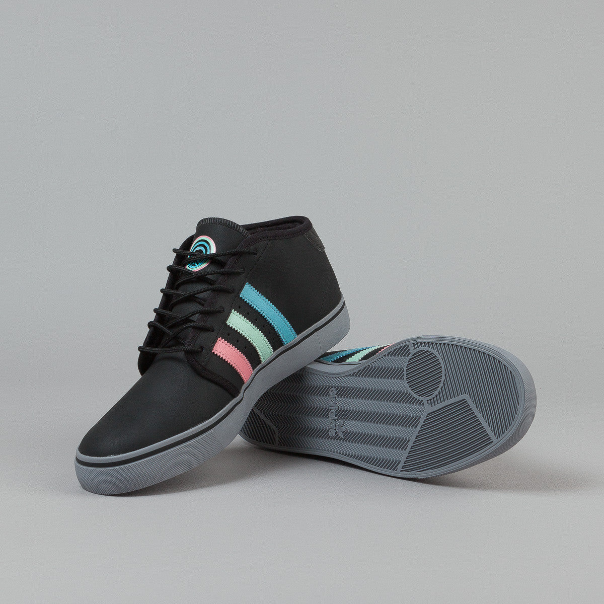 Adidas X Gnarly Seeley Mid Shoes - Black