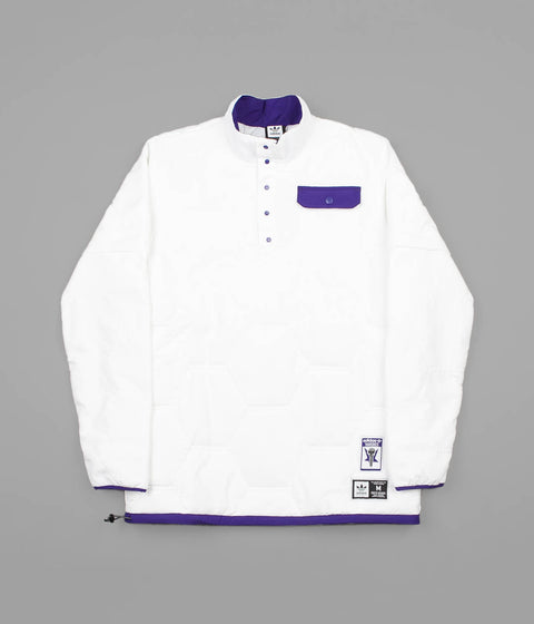 Adidas x Hardies Jacket - White / Collegiate Purple / Black
