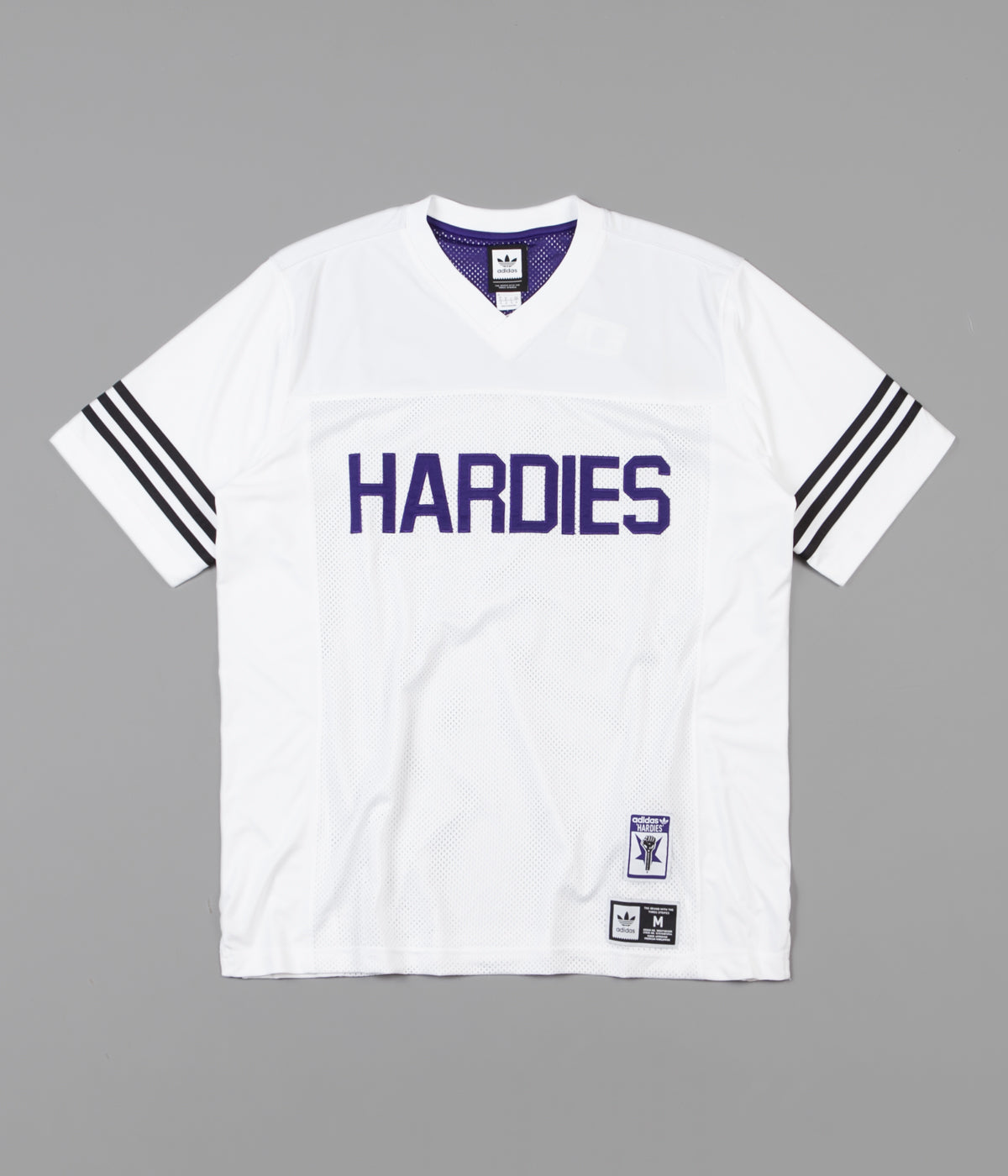 7dc13c5acb Adidas x Hardies Jersey - White / Collegiate Purple / Black