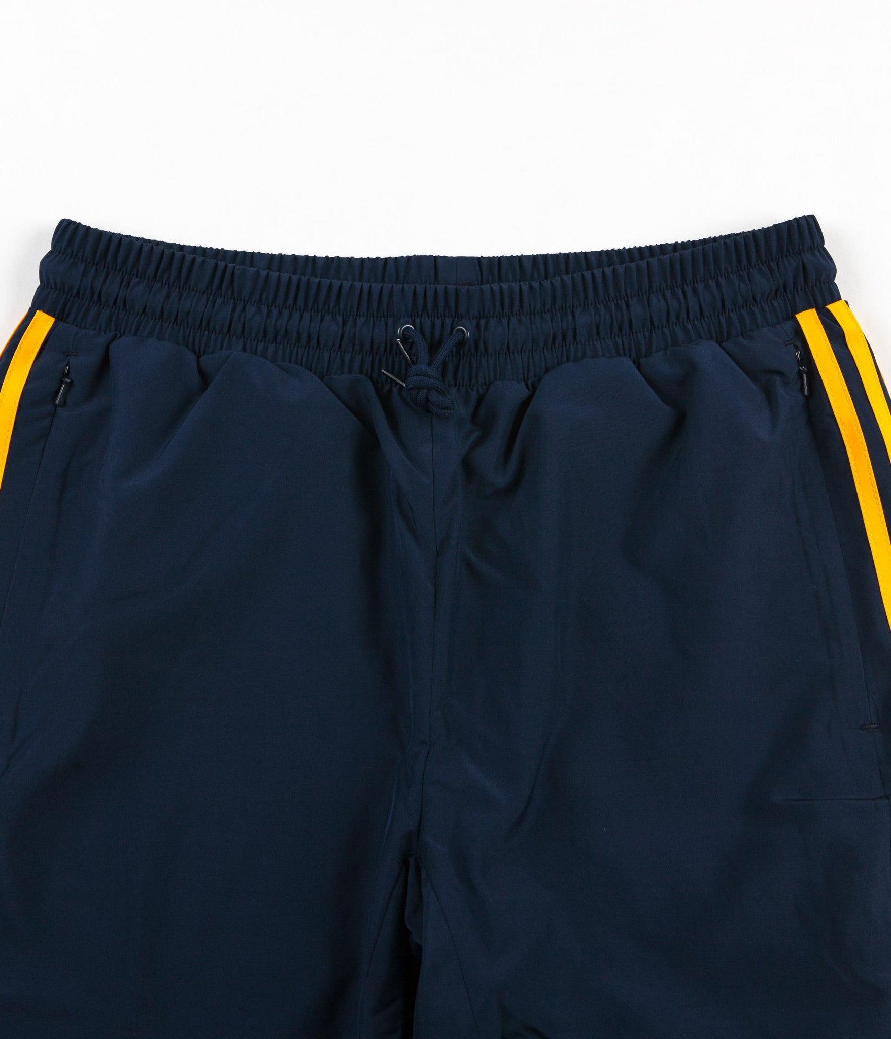 Adidas x Hardies Sweatpants - Collegiate Navy / Solar Yellow