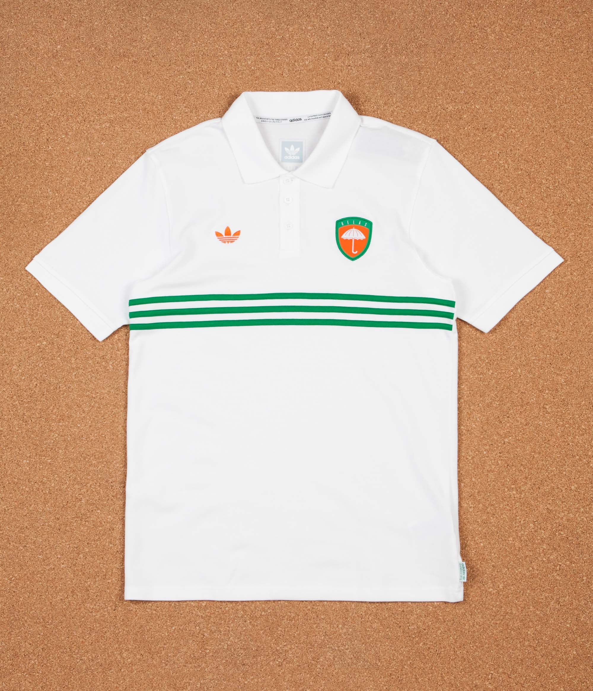 Adidas x Helas Polo Shirt - White / Green