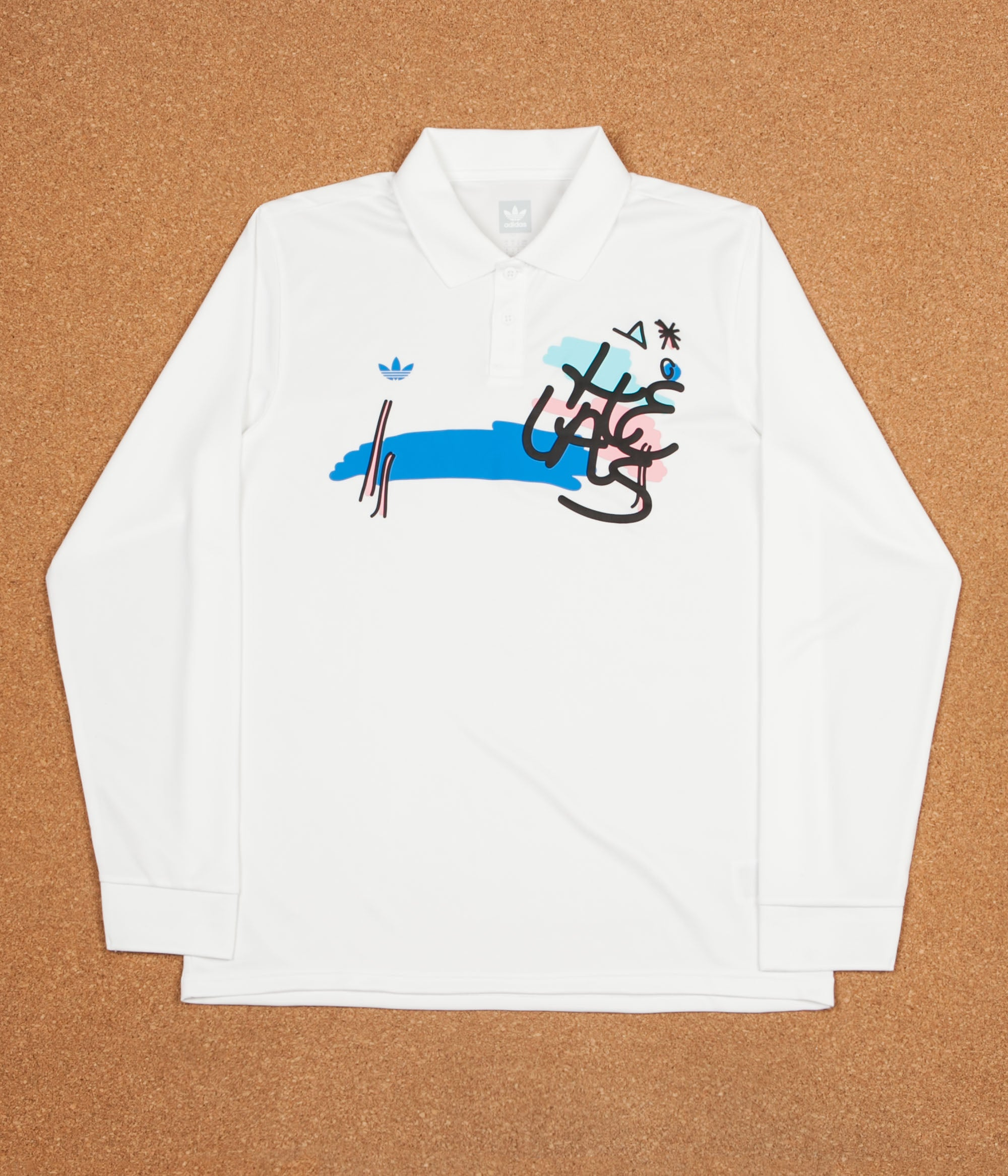 Adidas x Helas Polo Shirt - White