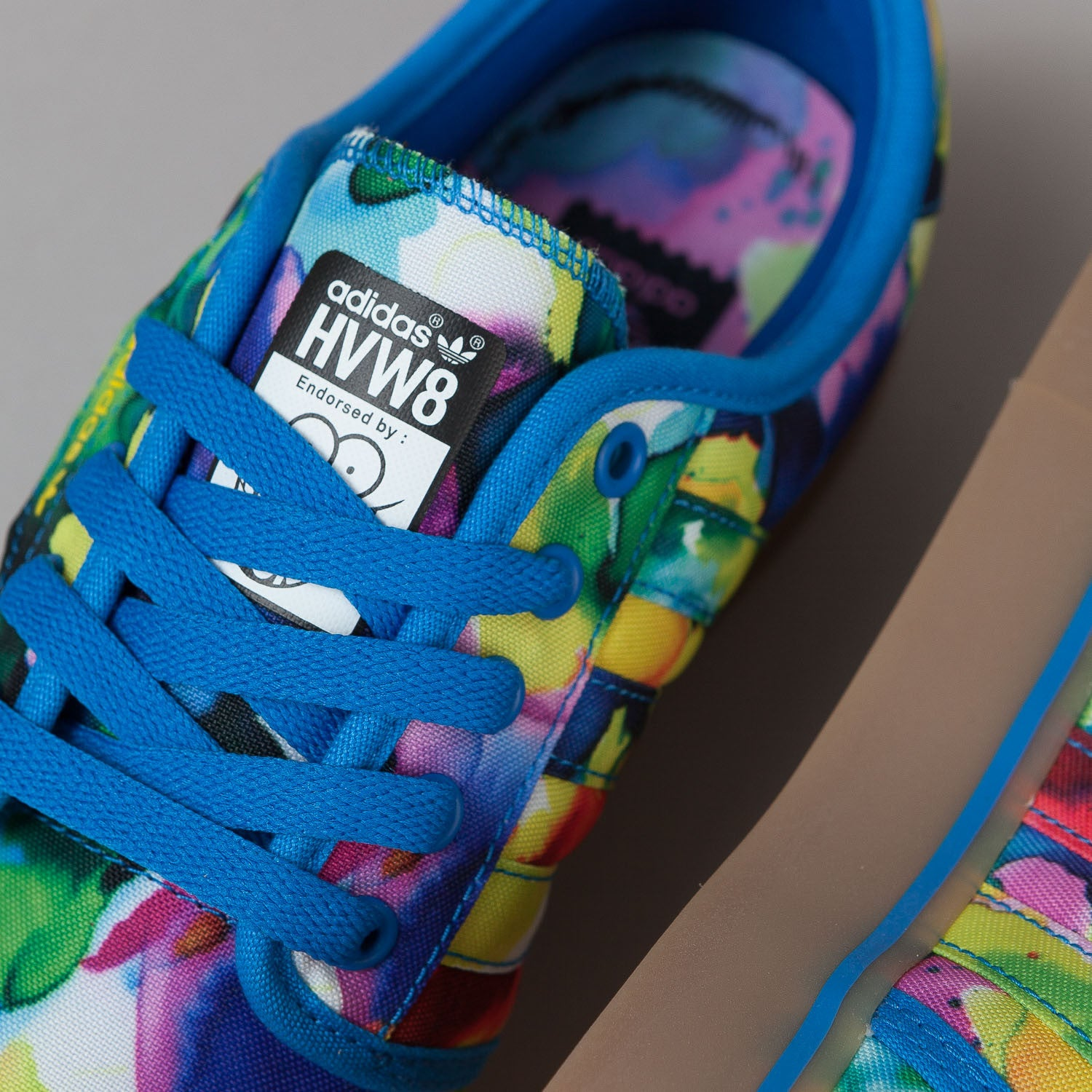 Adidas X HVW8 Seeley Shoes - Bluebird / Yellow / Core Black