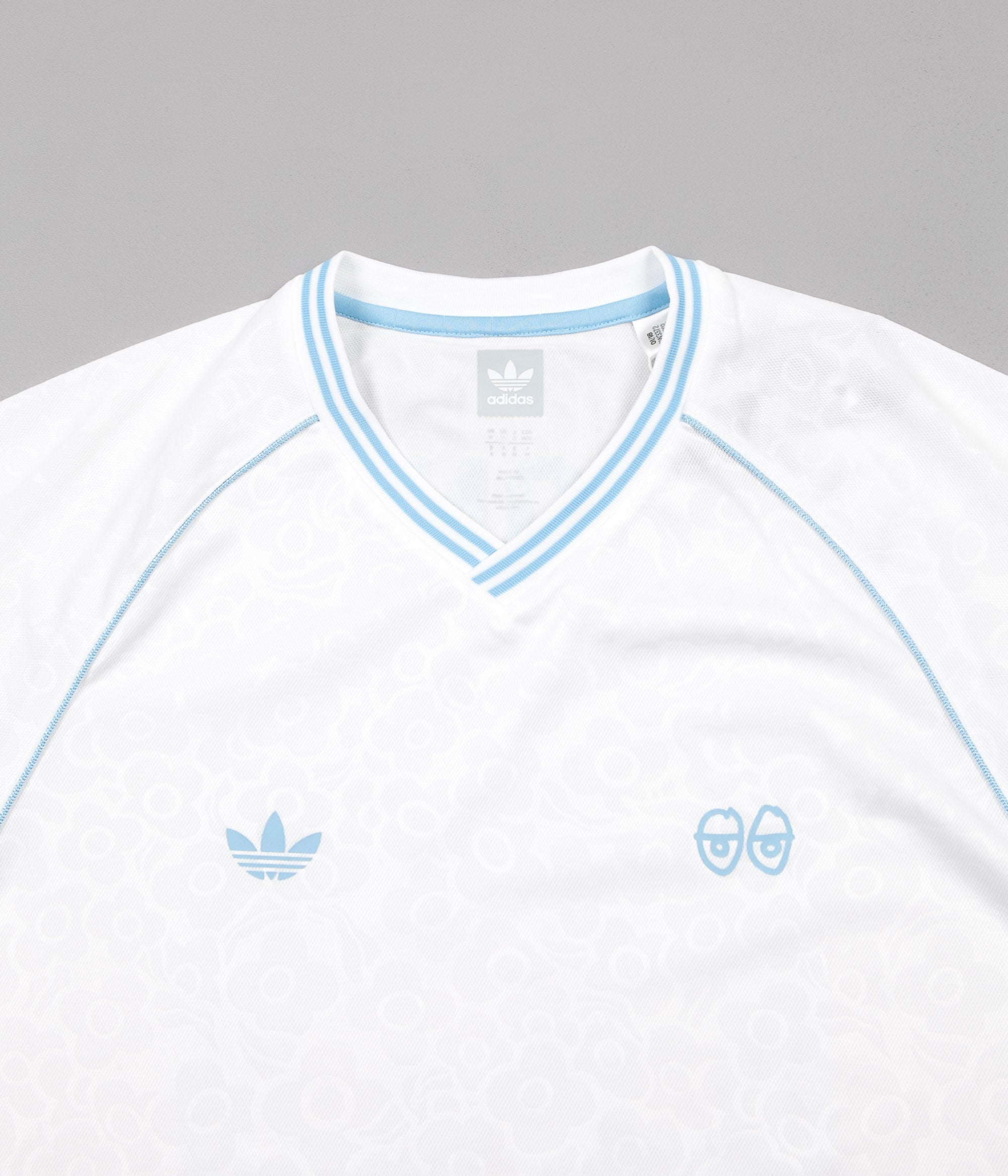Adidas x Krooked Jersey - White / Clear Blue