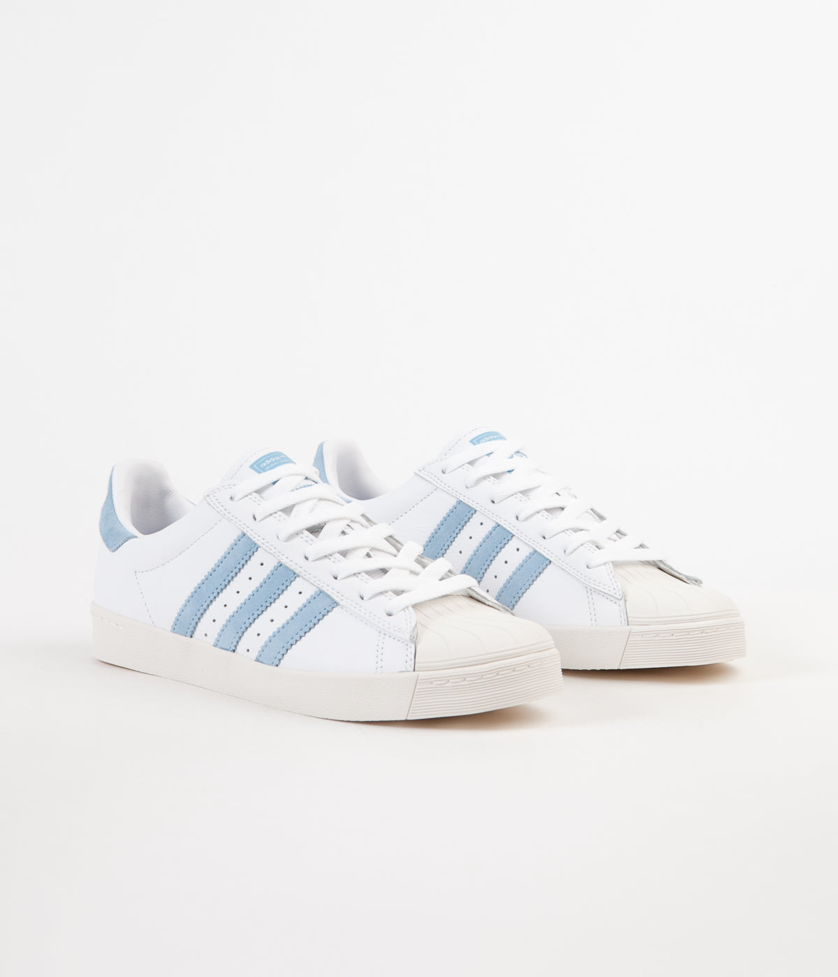Adidas x Krooked Superstar Vulc Shoes FTW White