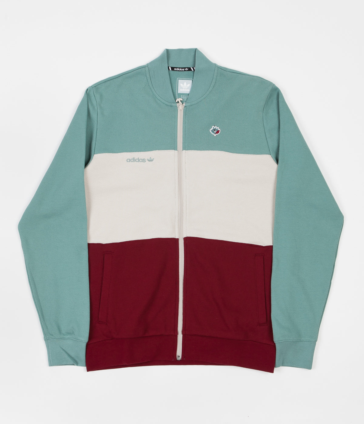 Adidas x Magenta Jacket - Vapour Steel / Clear Brown / Collegiate Burgundy