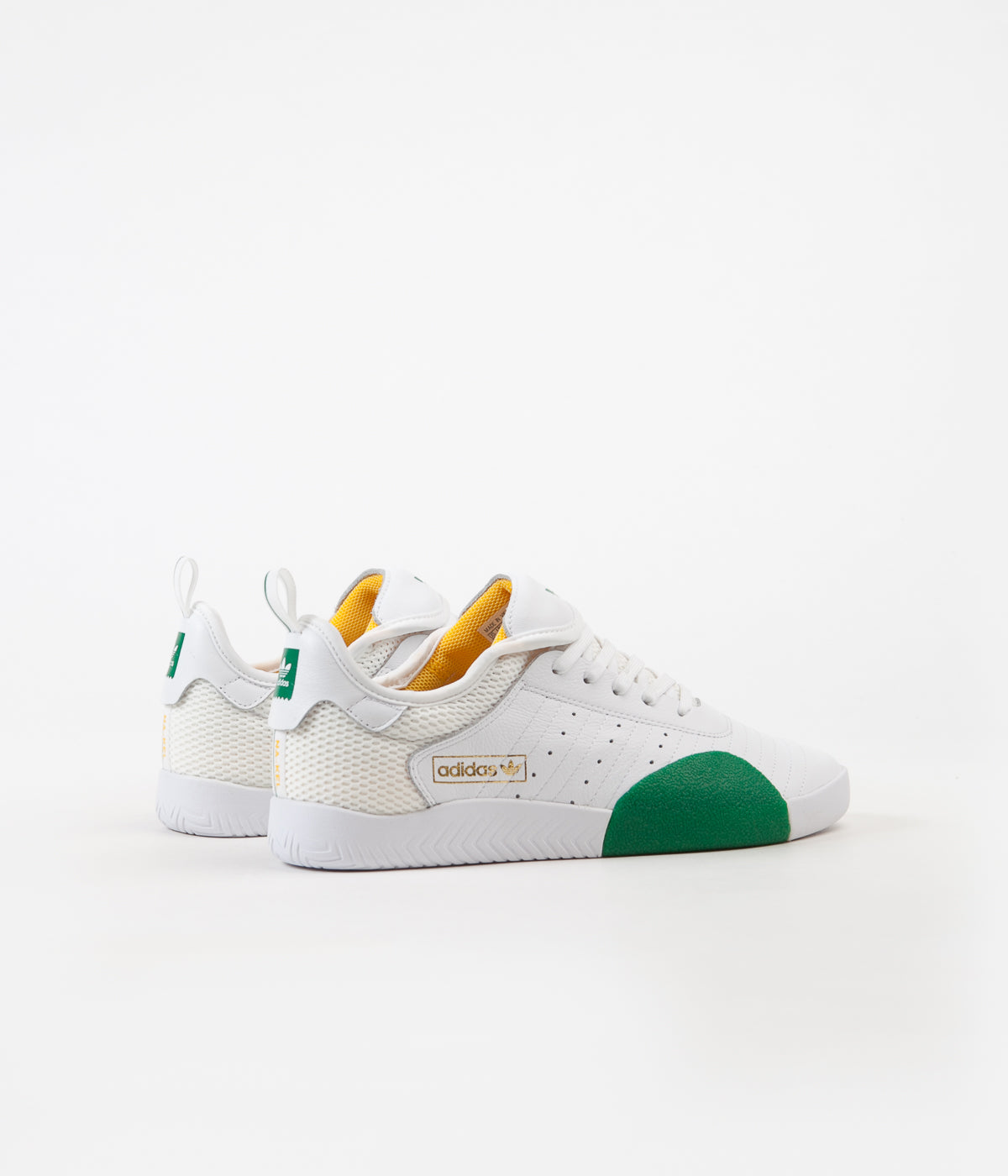 Adidas x Na-Kel 3ST.003 Shoes - Cloud White / Bold Green / Bold Gold