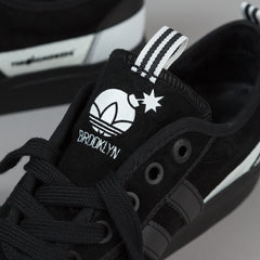 Adidas x NBA x The Hundreds Adi-Ease ADV - Black / White