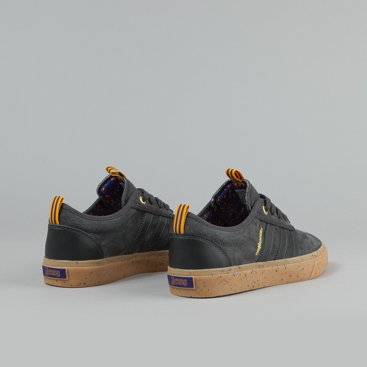 Adidas x NBA x The Hundreds Adi-Ease ADV - Grey / Purple