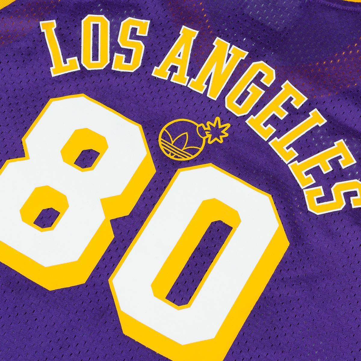 Adidas x NBA x The Hundreds LA Jersey - Regal Purple