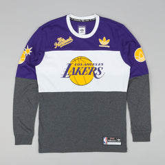 Adidas x NBA x The Hundreds LA Long Sleeve T-Shirt