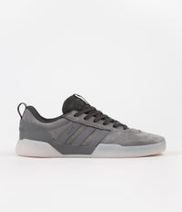 Adidas x Numbers City Cup Shoes - Grey Four / Carbon / Grey One