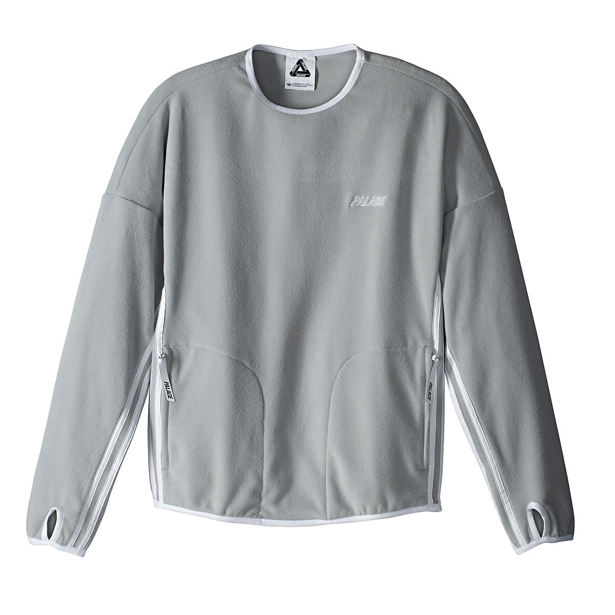 Adidas x Palace Fleece Crew Neck Sweatshirt