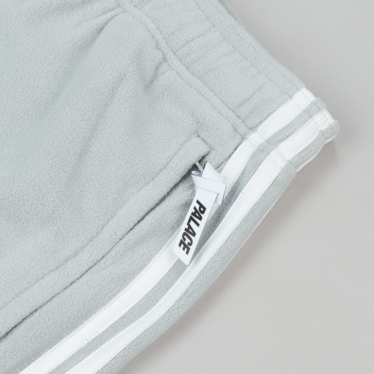 Adidas x Palace Fleece Sweatpants - Grey