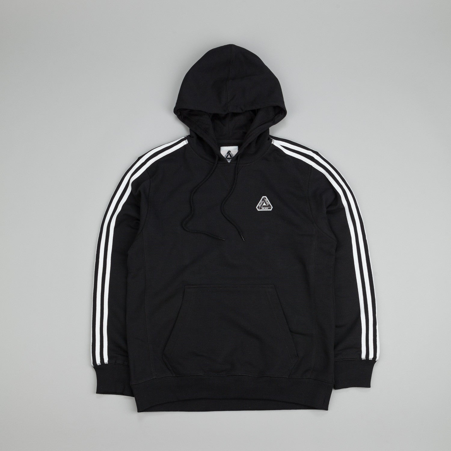 Adidas x Palace Hyper Hooded Sweatshirt Black