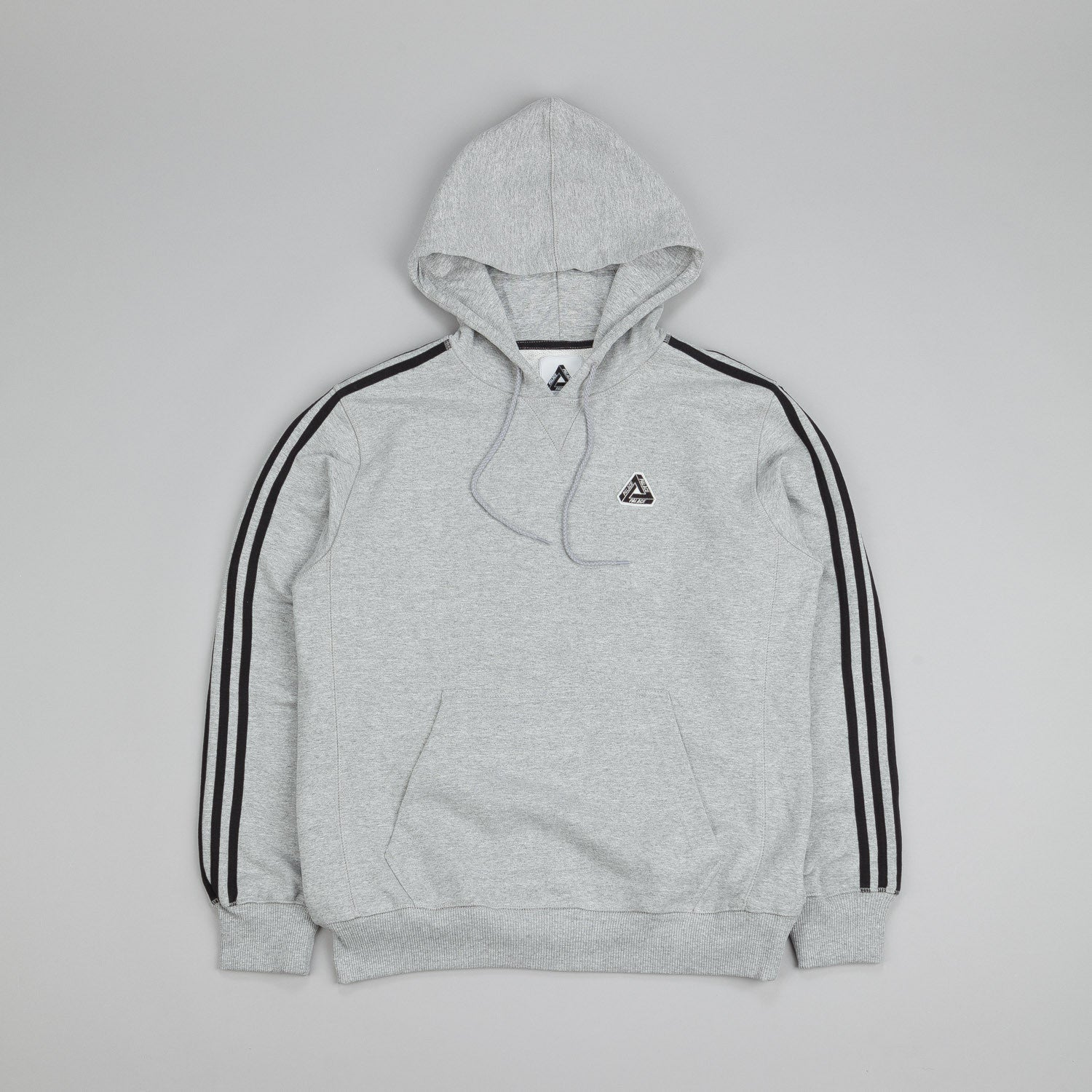 Adidas x Palace Hyper Hooded Sweatshirt Grey Heather