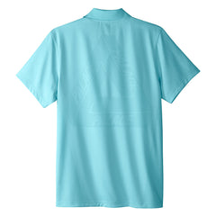 Adidas x Palace Knitted Polo Shirt - Clear Aqua
