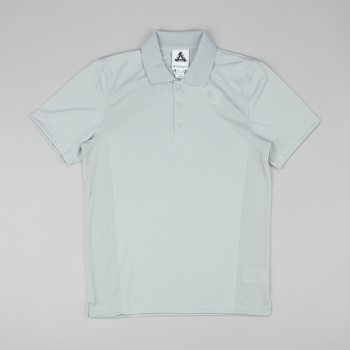 Adidas x Palace Knitted Polo Shirt - Grey