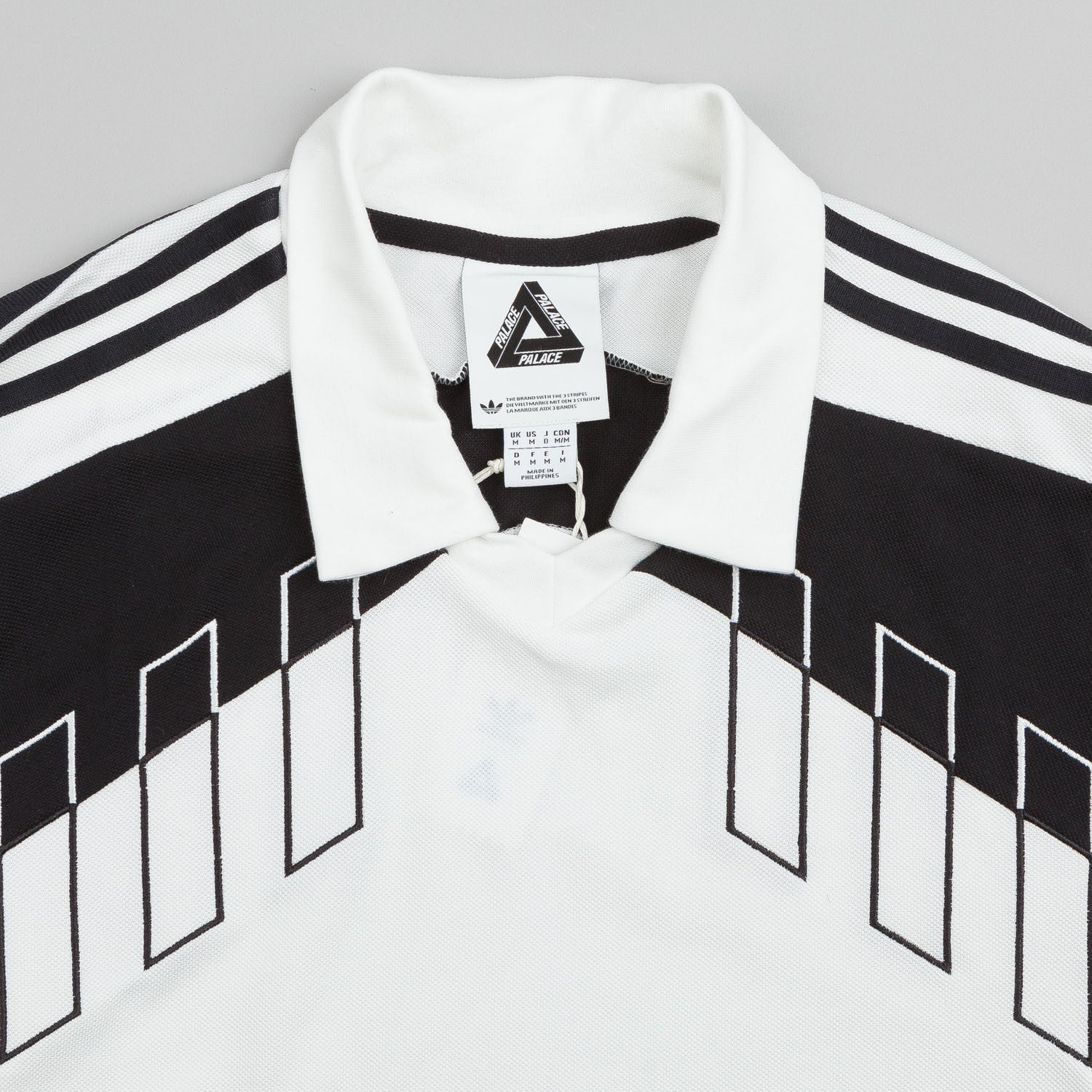 Adidas X Palace Long Sleeve Goalie Shirt White
